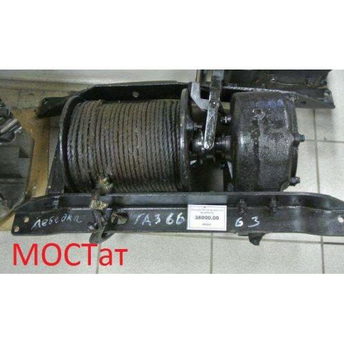 Лебедка с редуктором в сборе ГАЗ-66 66-02-4501010