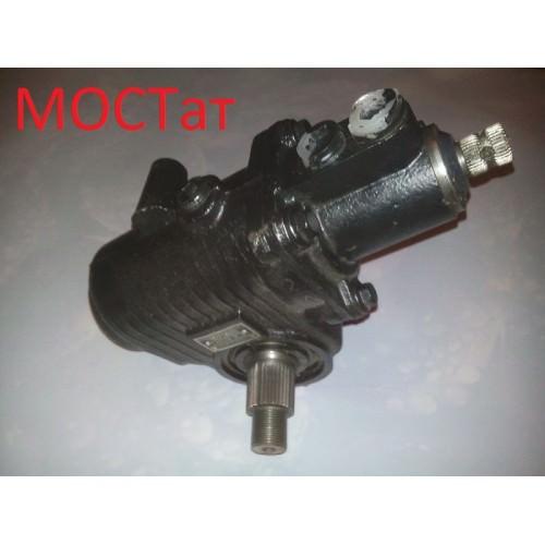 Механизм рулевой газ-3309 Е-3 с гидроусилитем